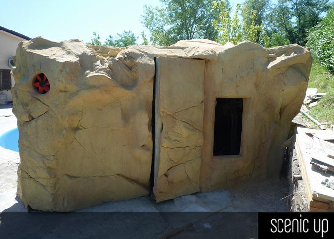 Pareti Con Cascate Dacqua : Cascate e fontane in roccia artificiale scenic up produzione e