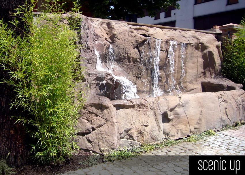 Cascata Dacqua Da Parete : Parete in pietra con cascata la scelta giusta è variata