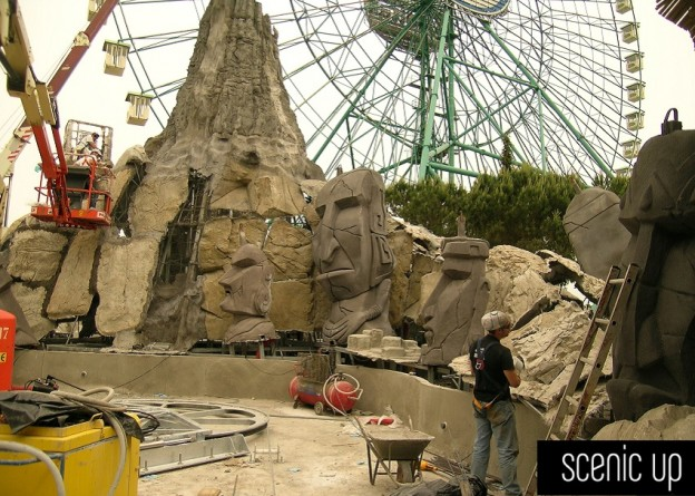 lavorare con le rocce artificiali