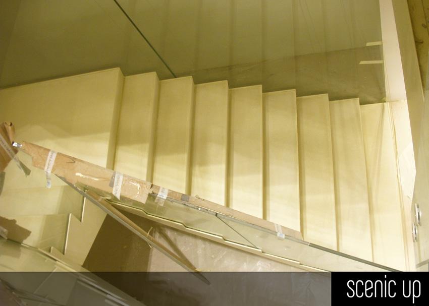 Scale interne per negozio geox milano arch dante benini - Soluzioni per scale interne ...